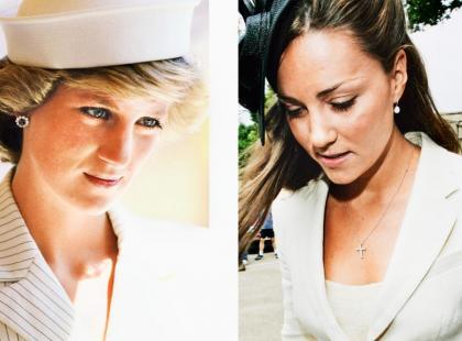 Kate Middleton vs Księżna Diana - Być jak Lady Di