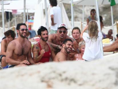 Kate Moss i Marc Jacobs: wakacje na Ibizie