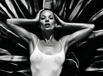 Kate Moss nago dla Vogue Hommes International