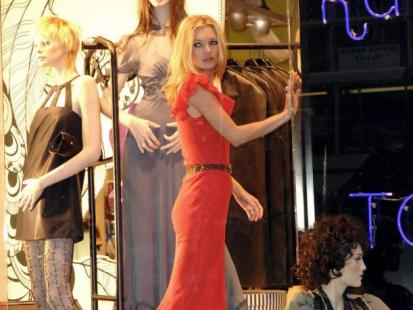Kate Moss skrytykowana za kult chudości