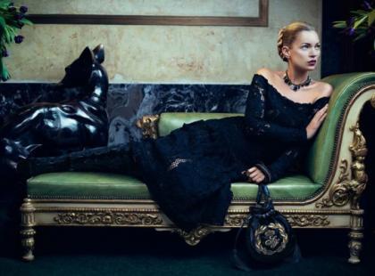 Kate Moss wciąż na topie