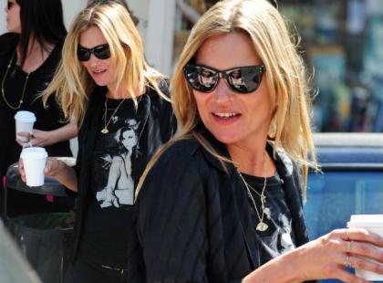 Kate Moss zabrała na zakupy córkę i przyjaciółki