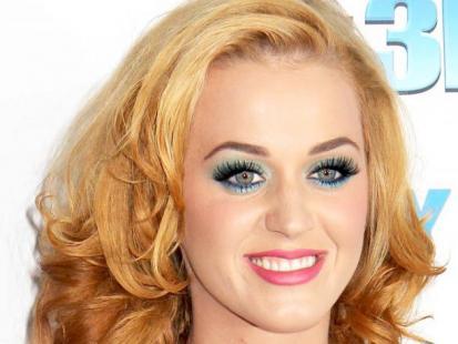 Katy Perry blondynką
