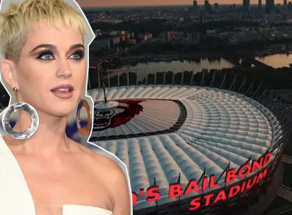 Katy Perry zapłaci za wykorzystanie wizerunku Stadionu Narodowego? Mowa o 120 tysiącach złotych zadośćuczynienia