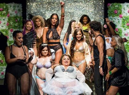 Kiedy świat żył pokazem Victoria's Secret, one zorganizowały swoje show i pokazały, że piękno nie patrzy na wymiary