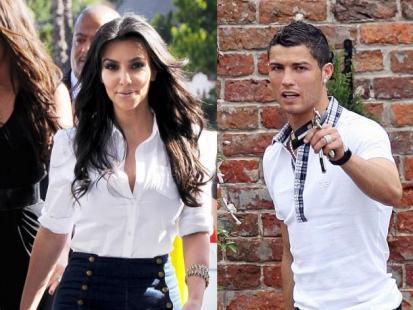 Kim Kardashian i Cristiano Ronaldo jak Beckhamowie
