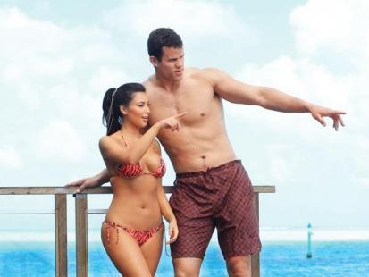 Kim Kardashian i Kris Humphries - Podróż poślubna