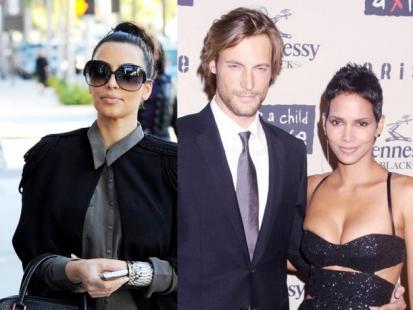 Kim Kardashian vs Halle Berry - Wojna o dziecko!