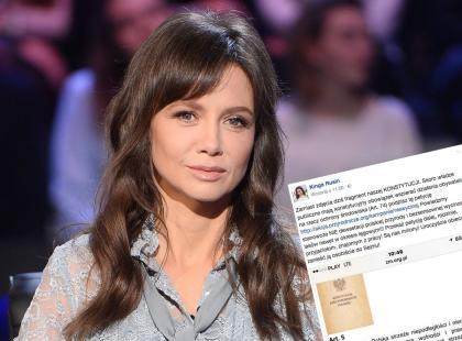 """Kinga Rusin: """"Dziś nie będzie zdjęcia stylizacji, tylko..."""". Dziennikarka zbiera podpisy pod petycją i chce iść na Sejm!"""