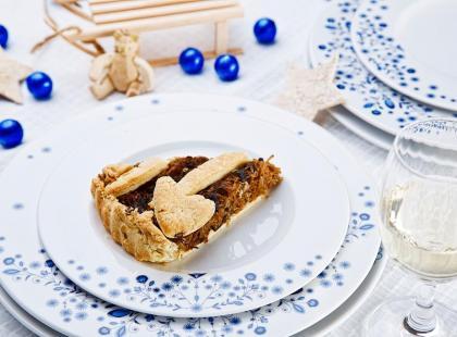 Kisz – przepis na świąteczną tartę z kapustą i grzybami