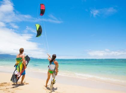 Kitesurfing – po czym poznać dobry spot?