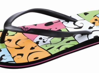 Klapki, sandały i buty z kolekcji Roxy - lato 2009
