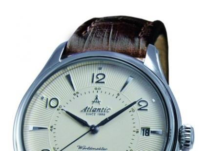 Klasyczne i tradycyjne męskie zegarki Atlantic 2010