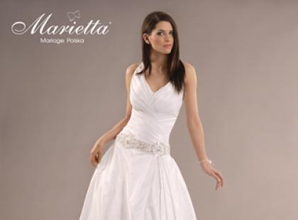 Klasyczne suknie ślubne Marietta 2012