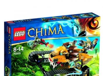 Klocki LEGO- najnowsze zestawy Chima już w sklepach