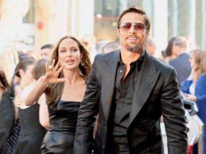 Kłopoty w raju Angeliny i Brada
