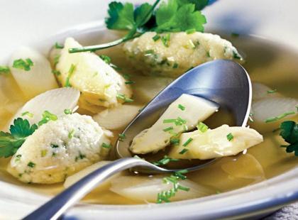 Kluski z kaszy manny do zupy