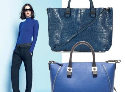 Kobaltowe torebki na wiosnę!