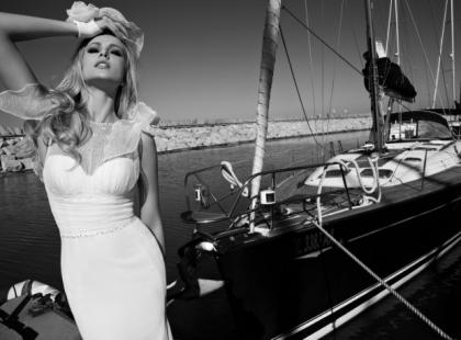 Kobiece i uwodzicielskie suknie ślubne - Galia Lahav