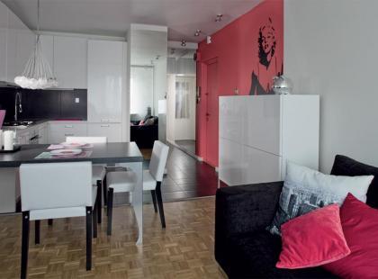 Kobiece mieszkanie