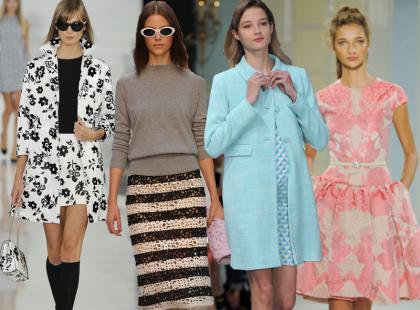 Kobiecy look retro - styl lat 50. i 60.