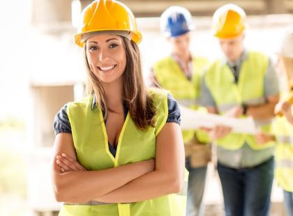 Kobieta na budowie: blaski i cienie. Przeczytaj wywiad i przekonaj się, jaka jest prawda