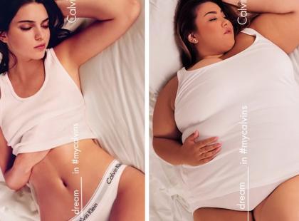 Kobiety plus size odtwarzają topowe kampanie reklamowe. Piękno nie ma rozmiaru XS?