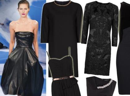 Kochamy klasykę! Czarne sukienki wieczorowe