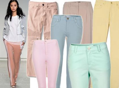 Kochamy to! 30 par pastelowych spodni