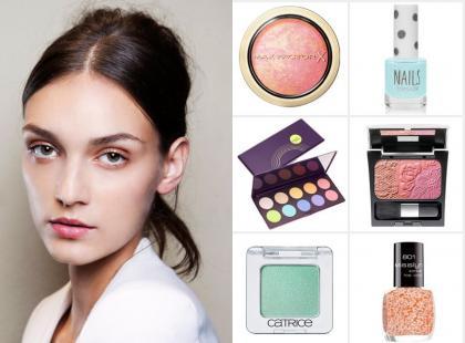 Kochamy to! Oto kosmetyki, którymi zrobisz najmodniejszy, pastelowy makijaż