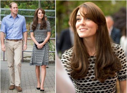 Kolejny raz w tej samej sukience. To ulubiona codzienna kreacja księżnej Kate?