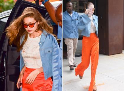 Kolejny sukces! Gigi Hadid w dżinsowej kurtce polskiej marki