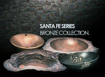 Kolekcja brązowych umywalek od Domain Industries