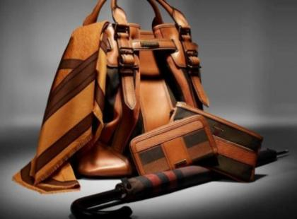 Kolekcja dodatków Burberry na jesień - zimę 2012