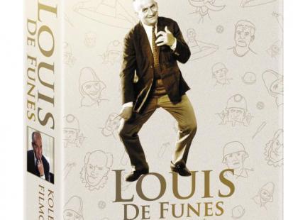 Kolekcja filmów z Louis De Funes na DVD