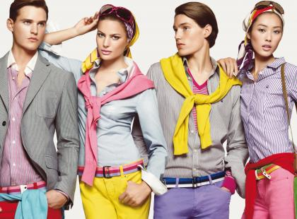 Kolekcja męska United Colors of Benetton wiosna-lato 2009