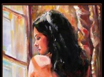 Kolekcja obrazów kobiet Damiana Kołaczkiewicza