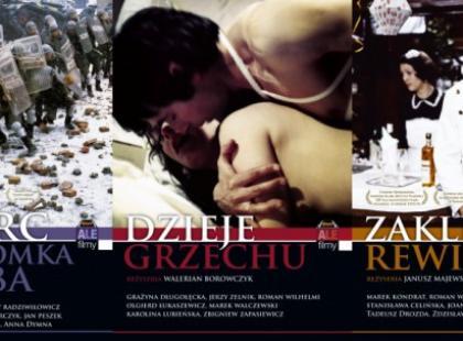 Kolekcja ponadczasowych filmów: ALE FILMY