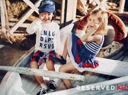 Kolekcja Reserved Kids – wiosna/ lato 2012