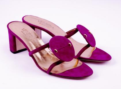 Kolekcja różowego obuwia Venezia wiosna-lato 2009