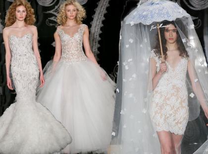Kolekcja sukien ślubnych Reem Acra wiosna 2014