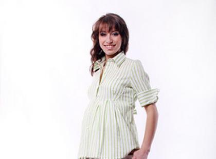 Kolekcja ubrań ciążowych Haltex wiosna - lato 2008