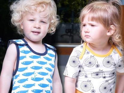 Kolekcja ubrań ekologicznych dla dzieci L'asticot