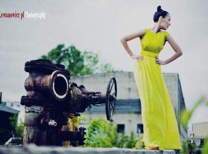 Kolekcji marki Rina Cossack - Fluo Fusion na sezon wiosna/lato 2011