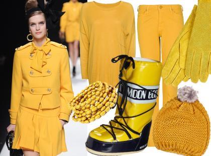 Kolor żółty jest hitem!