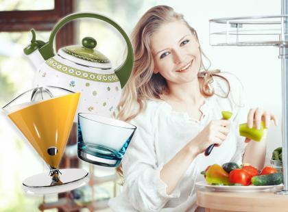 Kolorowe akcenty w Twojej kuchni