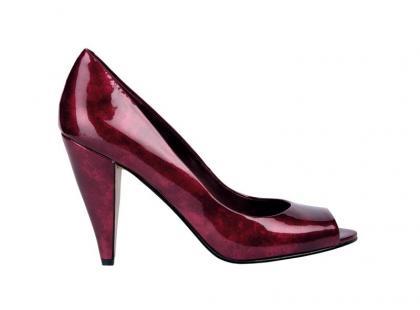 Kolorowe błyszczącze buty