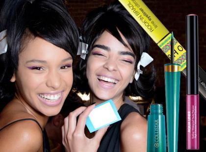 Kolorowe eyelinery na lato 2014
