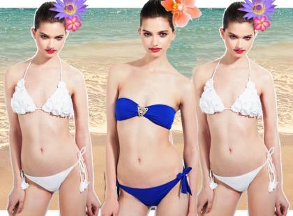Kolorowe kostiumy kąpielowe od Tally Weijl
