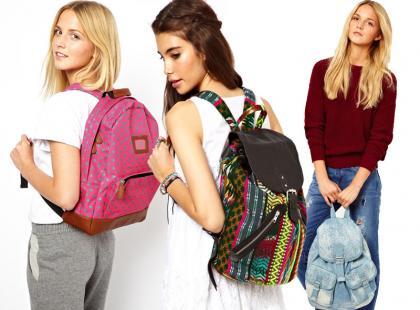 Kolorowe plecaki - sezonowy hit!